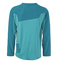 Scott AMT L/S Shirt - Maglia Ciclismo, Medium Blue/Orange