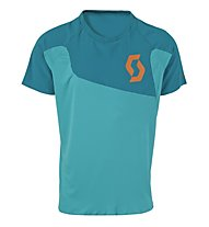 Scott AMT S/SL Shirt, Medium Blue/Orange
