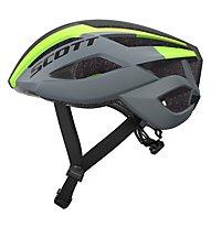 Scott Arx - casco bici, Grey/Green