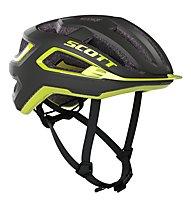 Scott ARX Plus - casco bici, Grey/Yellow