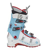Scott Celeste II - Skitourenschuhe, Azure/White/Red