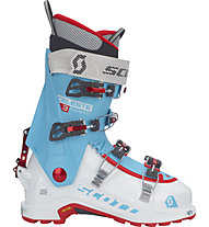 Scott Celeste III - scarpone scialpinismo - donna, White/Light Blue/Red