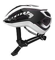 Scott Centric Plus - casco bici - uomo, White/Black