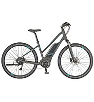 Scott E Sub Cross 20 (2018) - bici da trekking elettrica - donna, Grey