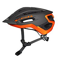 Scott Fuga Plus - casco bici, Grey/Orange