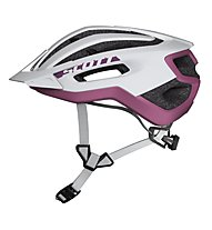 Scott Fuga Plus - casco bici, White/Purple