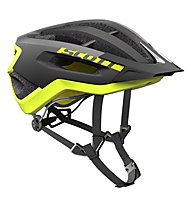 Scott Fuga Plus - casco bici, Black/Yellow