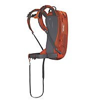 Scott Guide AP 20 Kit - Airbag Rucksack, Orange/Grey