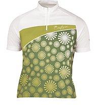 Scott Jersey S/S Girl - Maglia Ciclismo, Green/White