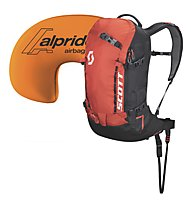Scott Patrol E1 22 Kit - zaino airbag, Black/Orange