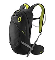 Scott Perform HY 16 Bike-Rucksack, Caviar Black/Sulphur Yellow