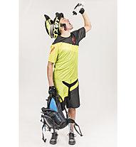 Scott Progressive Downhill Shirt Maglia MTB, Macaw Green/Black