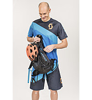 Scott Progressive Downhill Shirt, Empire Blue/Blue Nights