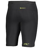 Scott Rc Run - pantaloni corti trail running - uomo, Black/Yellow