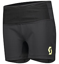 Scott Rc Run - kurze Trailrunninghose - Damen, Black/Yellow