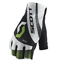 Scott RC SF Glove - Guanti Ciclismo, White/Green