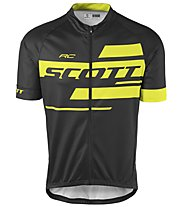Scott RC Team 10 S/SL Radtrikot, Black/Sulphur Yellow
