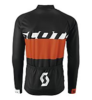 Scott RC Team L/SL Shirt, Black/Tangerine Orange