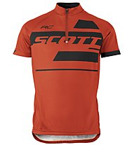Scott RC Team S/SL Junior Shirt Kinder-Radtrikot, Tangerine Orange/Black