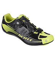 Scott Road Team Boa Shoe, Black/Neon Yellow