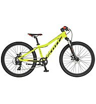Scott Scale 24 Disc (2019) - Mountainbike - Kinder, Yellow/Black