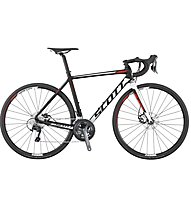 Scott Speedster 20 Disc (2017) - bici da corsa, Black/White