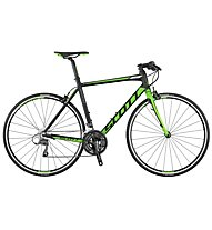Scott Speedster 40 FB (24) (2017) Rennrad/Fitnessbike, Grey/Green/White