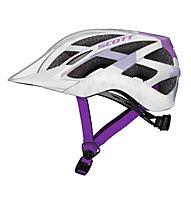 Scott Spunto - Fahrradhelm, White/Violet