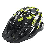 Scott Spunto Helm, Black/Lime Green