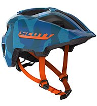 Scott Spunto Junior - Radhelm MTB - Kinder, Blue/Orange