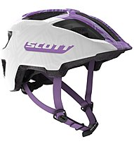 Scott Spunto Junior - Radhelm MTB - Kinder, White/Violet