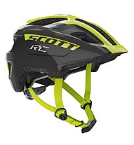 Scott Spunto Junior - Radhelm - Kinder, Black/Yellow