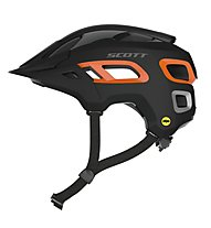 Scott Stego - Fahrradhelm Mountainbike, Black/Orange