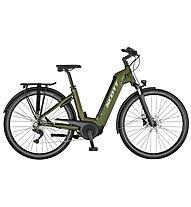 Scott Sub Tour eRIDE 10 USX (2021) - bici da trekking elettrica - unisex, Green