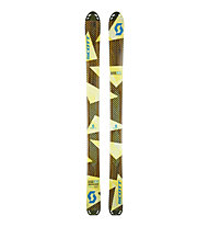 Scott Superguide 105 Freerideski, Yellow/Brown
