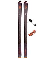 Scott Set Superguide 95 Women's: sci da scialpinismo/freeride+attacco+pelli