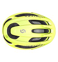 Scott Supra Plus - Radhelm, Yellow Fluorescent