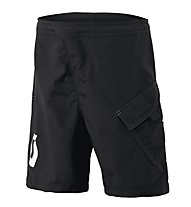 Scott Trail 20 LS/FIT Junior Shorts - Pantaloncini Ciclismo, Black/White