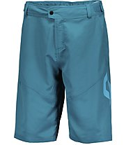 Scott Trail 40 LS/Fit W/Pad Shorts - MTB Radhose - Herren, Blue Coral/Sea Blue
