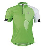 Scott Trail 40 S/SL Junior Maglia MTB Bambino, Classic Green/White