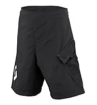Scott Trail Flow Junior Shorts, Black/White