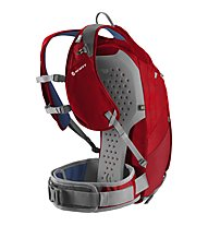 Scott Trail Protect FR 16 Enduro/DH-Rucksack, Fiery Red/Seaport Blue