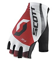 Scott W's RC SF Glove - Guanti Ciclismo, White/Red