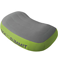 Sea to Summit Aeros Premium - Kissen, Grey/Green