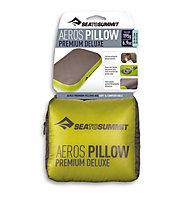 Sea to Summit Aeros Pillow Premium Deluxe - Reisekissen, Green/Grey