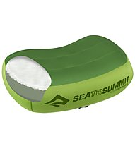 Sea to Summit Aeros Premium - Camping Kissen, Green
