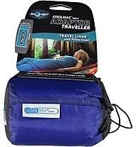 Sea to Summit Coolmax Adaptor Traveller With Pillow Insert - saccoletto, Blue