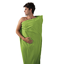 Sea to Summit Cotton Liner Traveller - saccoletto, Light Green