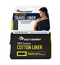 Sea to Summit Cotton Liner Traveller - Inlet, Blue