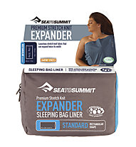 Sea to Summit Expander Liner Stretch Polycotton Double - saccoletto matrimoniale, Blue